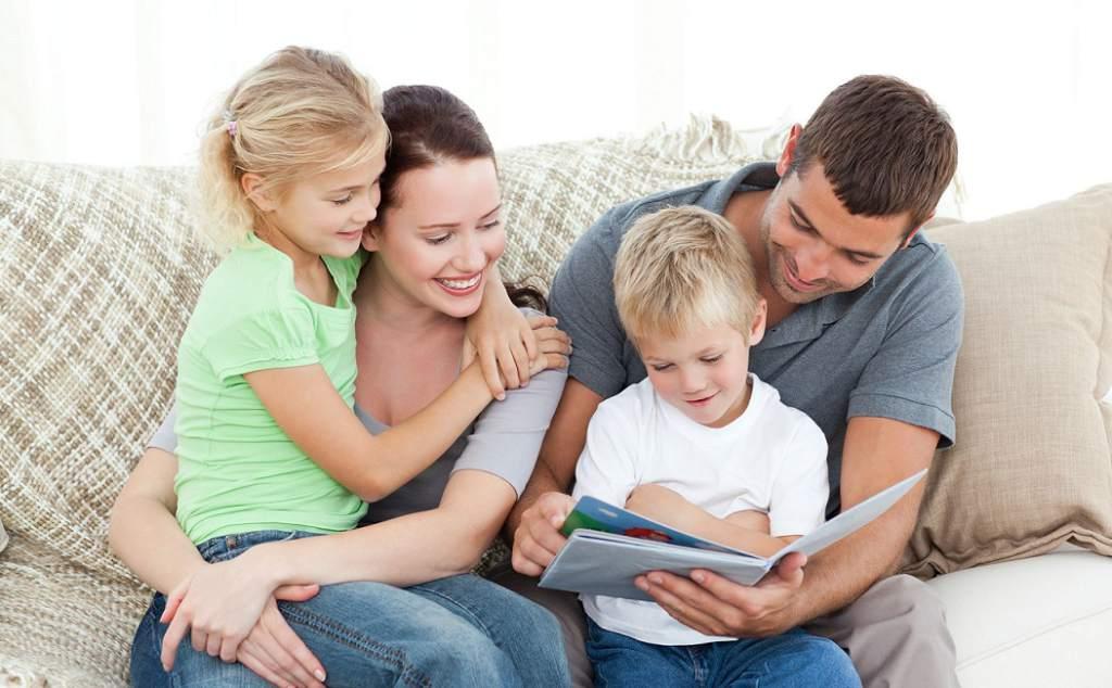 padres con niños