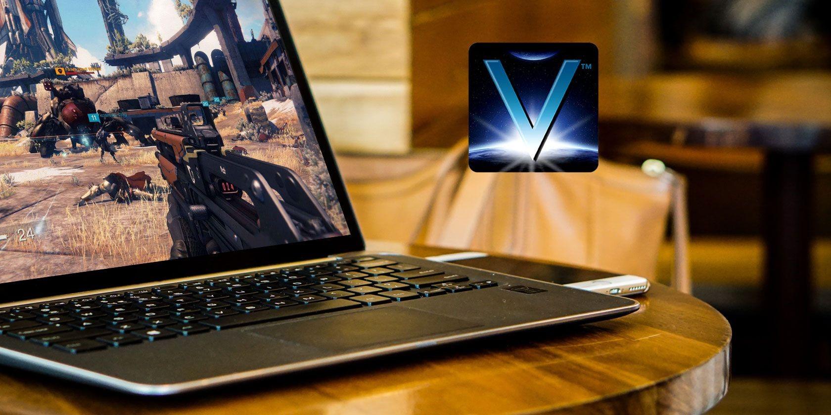 Vulkan Run laptop