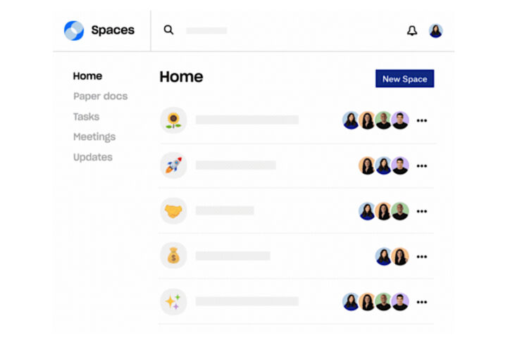 Dropbox Spaces 2.0