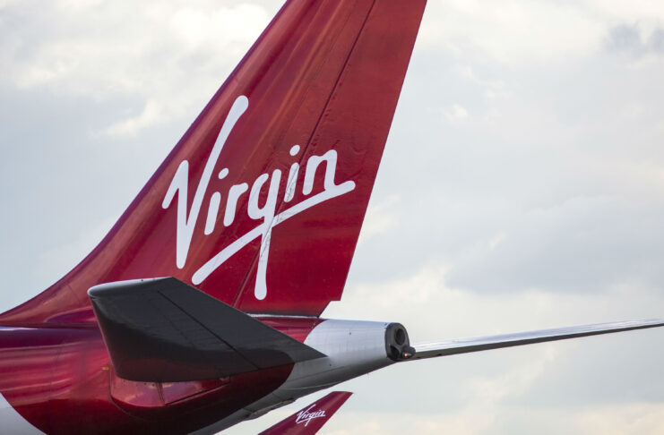 Richard Branson en la carrera para salvar Virgin Atlantic