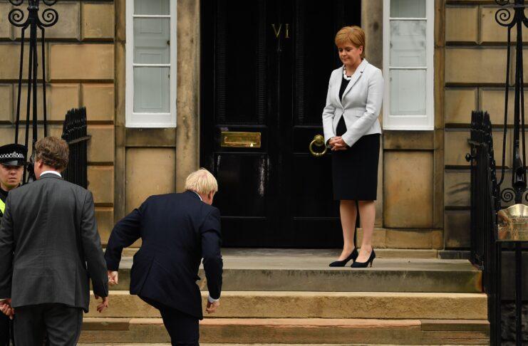 """¿Tenía razón Boris Johnson al etiquetar la descentralización escocesa como un """"desastre""""?"""