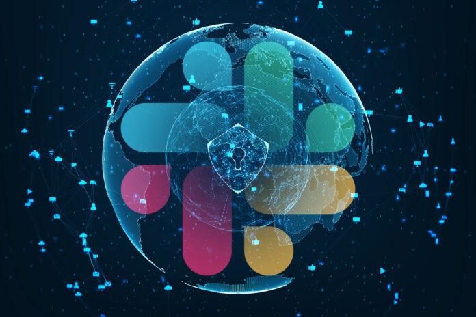 Slack logo / security / network