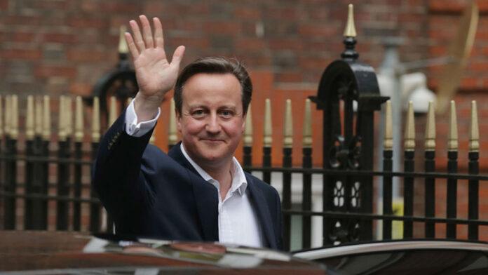 ¿Qué está haciendo David Cameron ahora?
