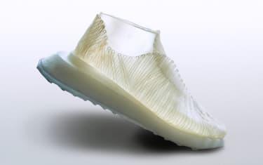 Un prototipo de zapatilla de biomaterial
